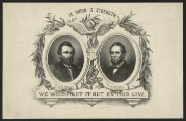 1868 Grant Campaign Poster