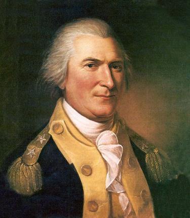 A portrait of Arthur St. Clair