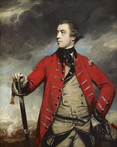 A portrait of John Burgoyne