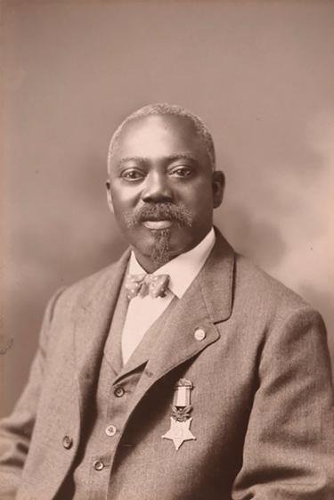 Medal of Honor Recipient William Carney