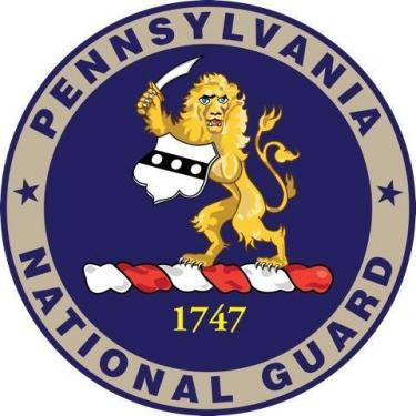 Current insignia of the Pennsylvania National Guard