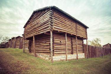 Old Fort Harrod State Park, Harrodsburg, Ky.