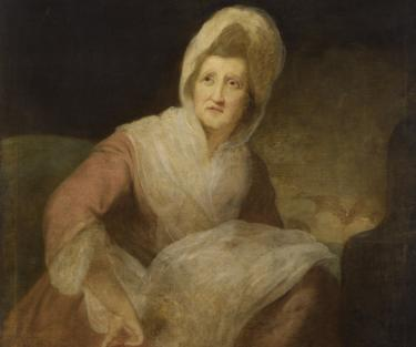 Portrait of Patience Lovell Wright by Robert Edge Pine