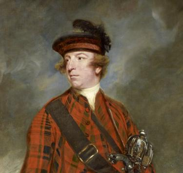 A portrait of John Murray, 4th Earl of Dunmore