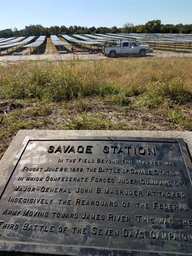 Solar at Savage's Station