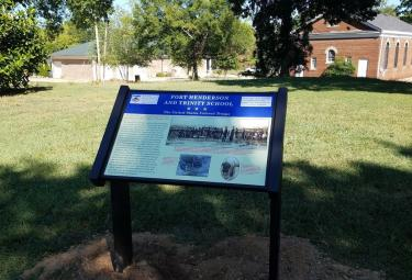 Fort Henderson Trinity School Athens Ala.