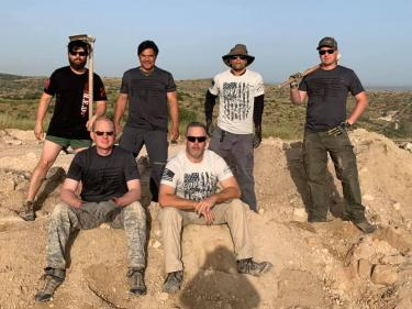 American Veterans Archaeological Recovery Team Photo