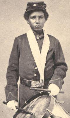Colored Troops Drummer