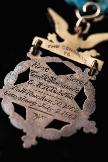 Roosevelt's Medal of Honor Detail