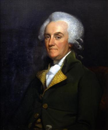 A portrait of William Franklin