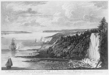 An engraving of Montmorency