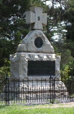 The 5th New York Monument at Second Manassas