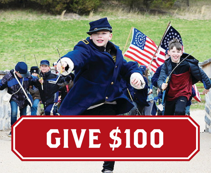 Support education with a $100 donation