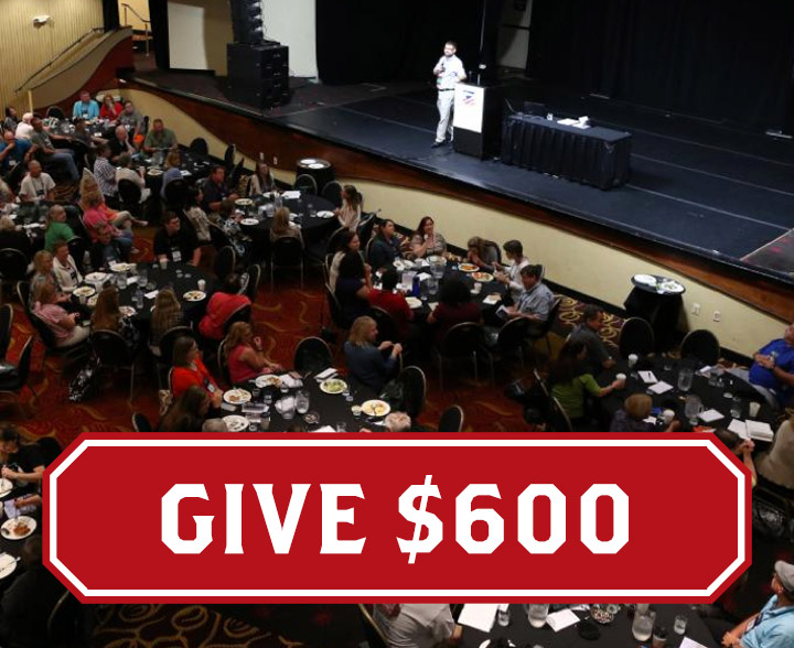 Support education with a $600 donation