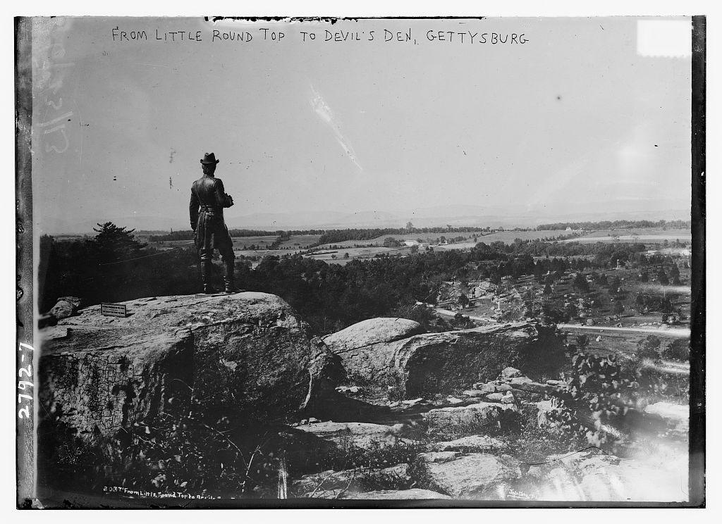 Defense of Little Round Top | American Battlefield Trust on santa fe shopping map, new braunfels shopping map, austin shopping map, the woodlands shopping map,
