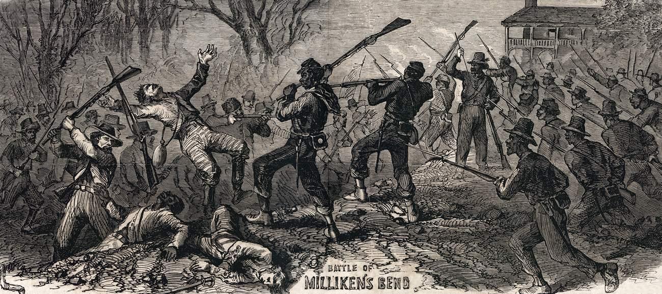 Image result for battle of milliken's bend