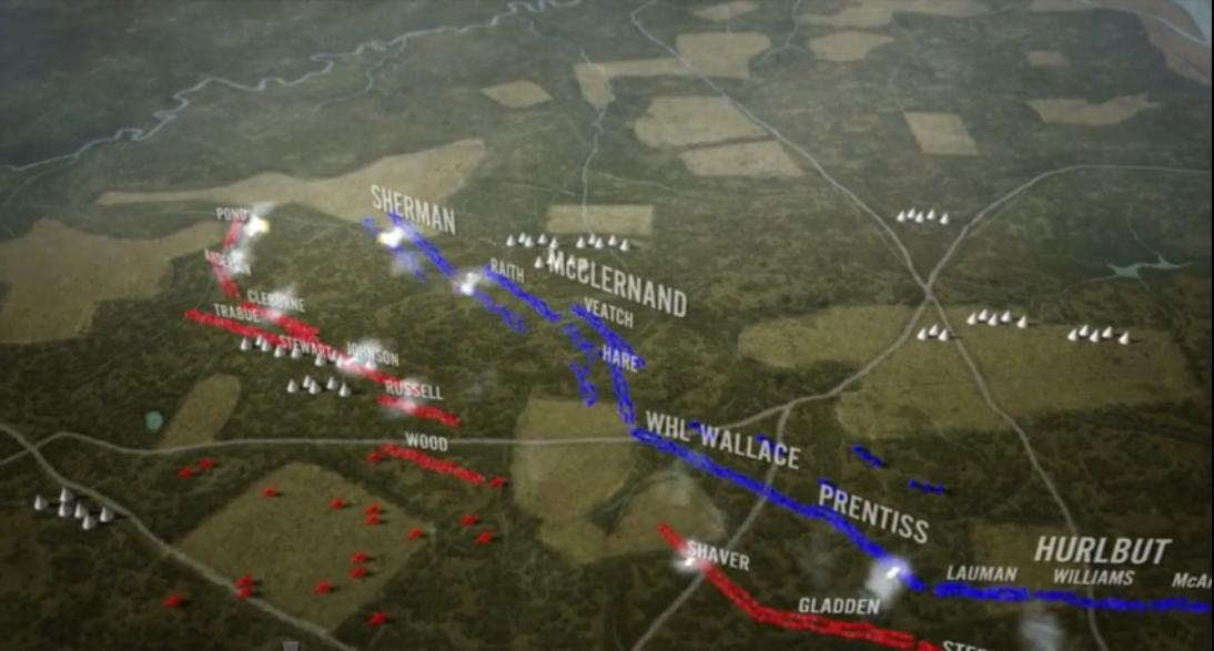 shiloh animated map american battlefield trust