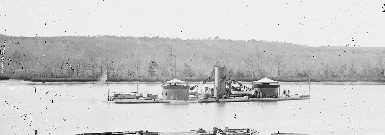 Ships of the Civil War - U.S.S. Monitor