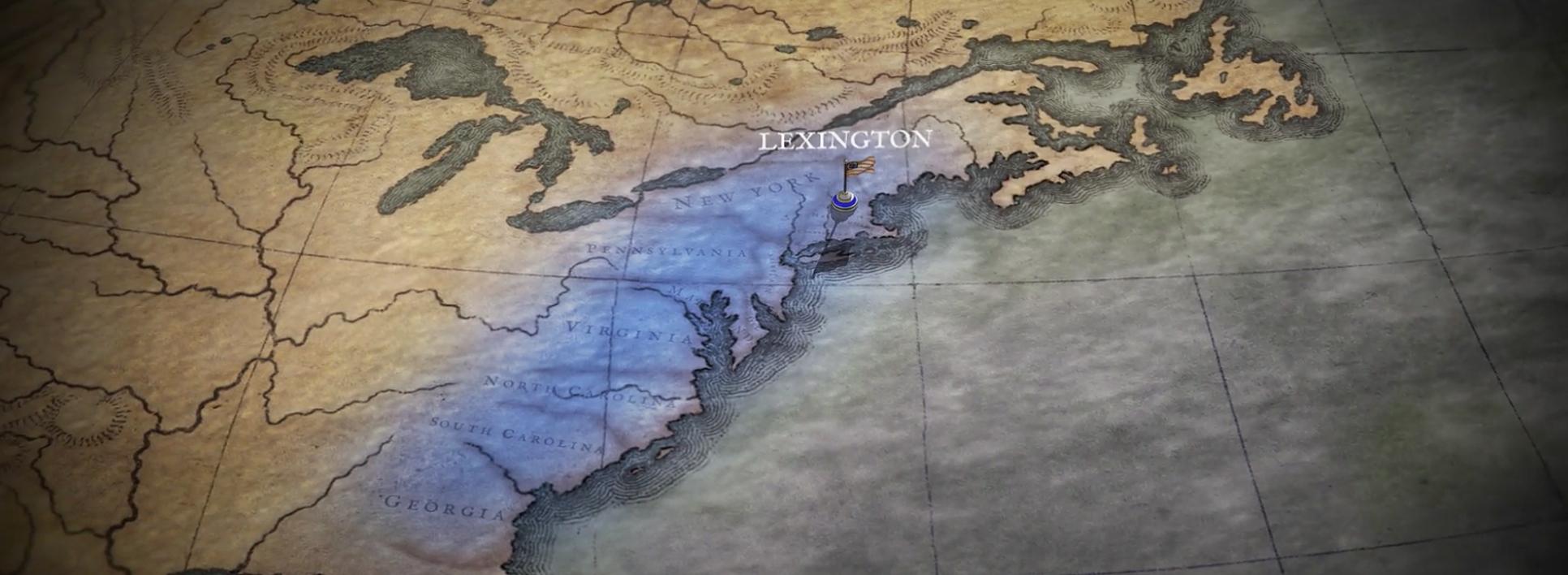 The Revolutionary War Animated Map | American Battlefield Trust