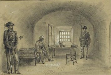 Jefferson Davis at Fort Monroe
