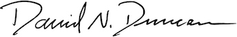 Image of American Battlefield Trust President's signature
